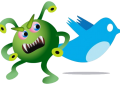 ¿Como eliminar virus en Twitter?